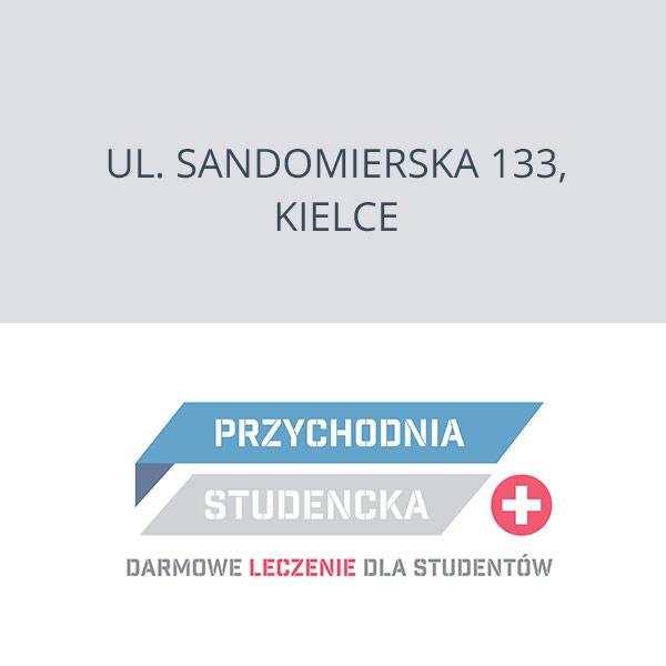 NZOZ Przychodnia Studencka Kielce, ul. Sandomierska 133