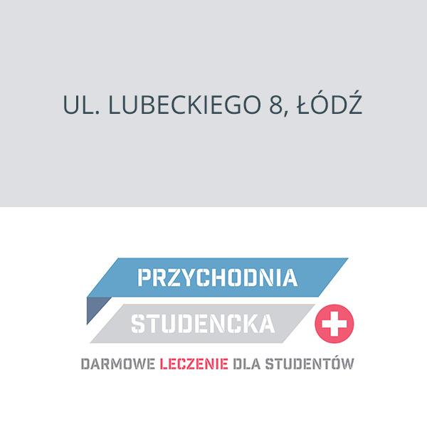 Przychodnia Studencka Łódź ul. Lubeckiego 8, Łódź