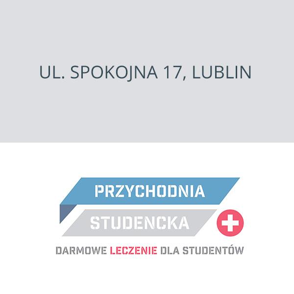 Przychodnia Studencka Lublin ul. Spokojna 17, Lublin