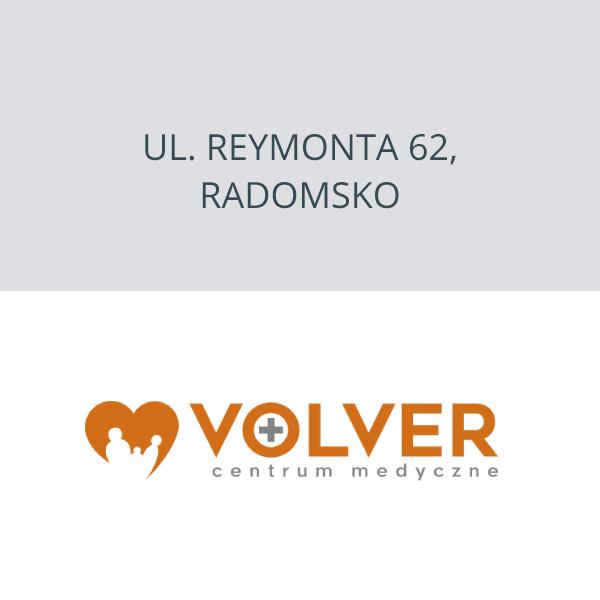 Centrum Medyczne Volver ul. Reymonta 62, Radomsko