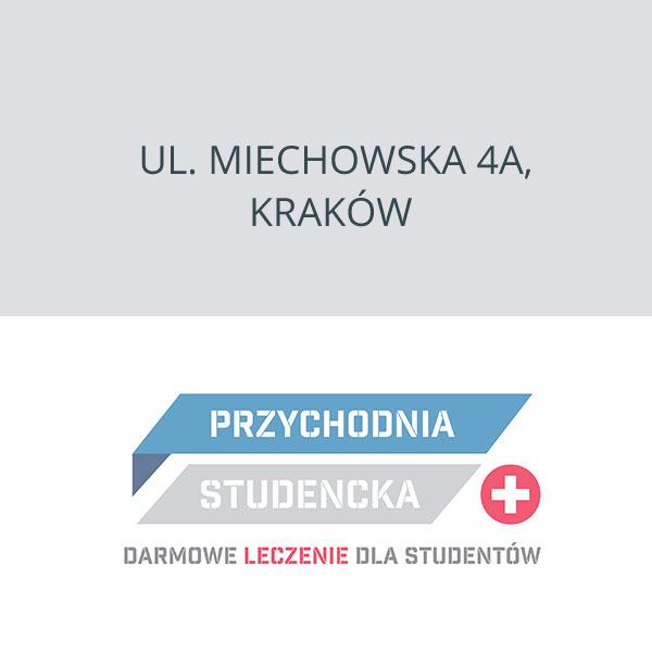 Przychodnia Studencka Kraków, ul. Miechowska 4a