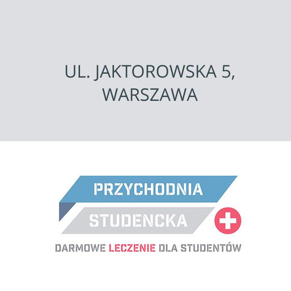 NZOZ Przychodnia Studencka Warszawa, ul. Jaktorowska 5