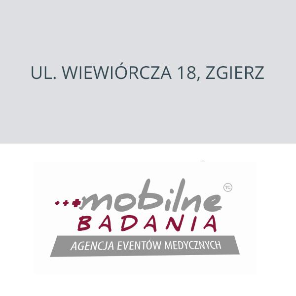 Mobilne Badania ul. Wiewiórcza 18, Zgierz